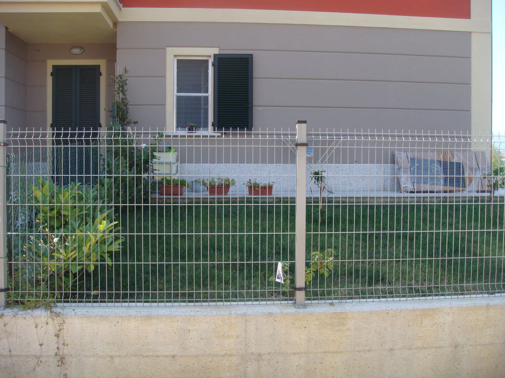 Architectural Panel Fence